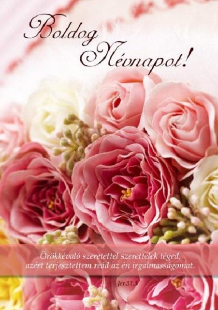 képeslap boldog névnapot Képeslap   K 002   Boldog névnapot!   Örökkévaló szeretettel  képeslap boldog névnapot